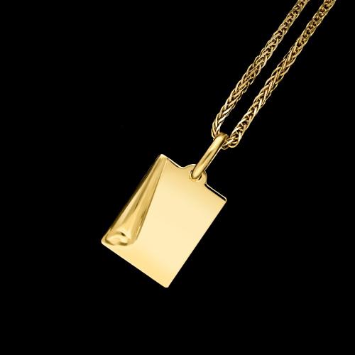 Złota zawieszka - Papirus po grawer pr.585