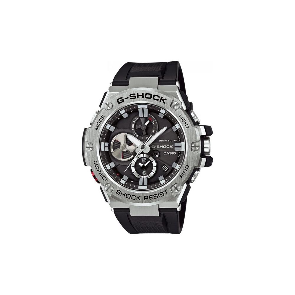 Zegarek Casio G-SHOCK GST-B100-1AER G-Steel