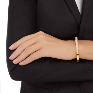 Bransoletka SWAROVSKI - Friend Bangle Gold 5216980