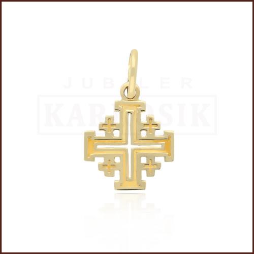 Złota Zawieszka Krzyżyki pr.585