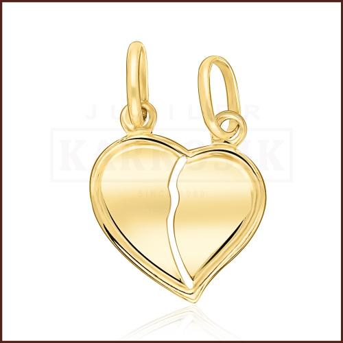 Złota Zawieszka - Serce do Przełamania  pr.585