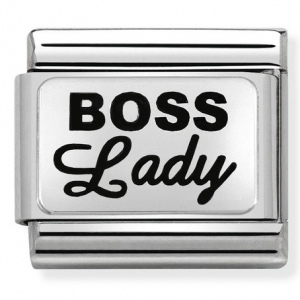 Nomination - Link 925 Silver 'BOSS LADY' 330109/35