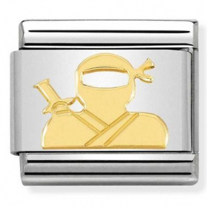 Nomination - Link 18K Gold 'Ninja' 030149/38