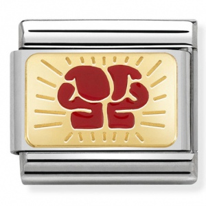 Nomination - Link 18K Gold 'Boxing Cloves' 030287/10