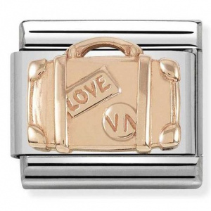 Nomination - Link 9K Rose Gold 'Suitcase' 430102/07