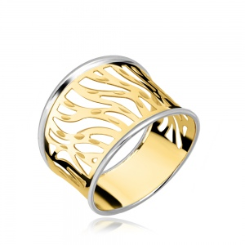 Złoty pierścionek pr.585