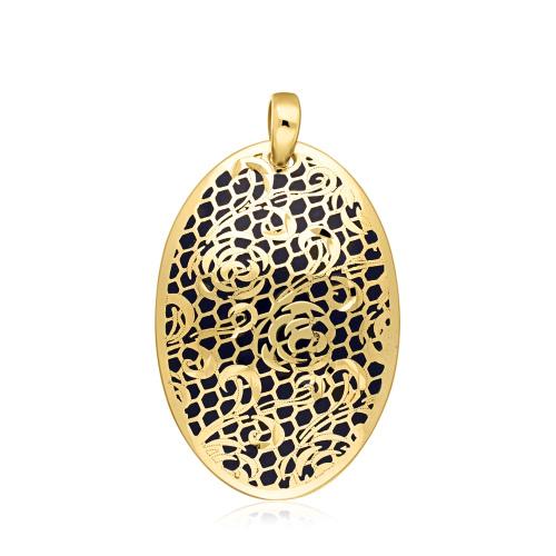 Złota zawieszka - Medalion pr.585