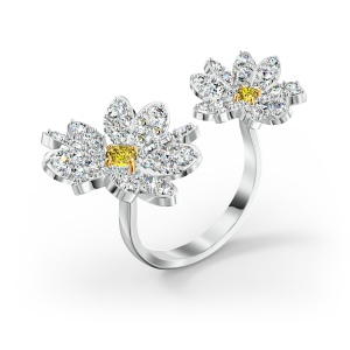 Pierścionek Swarovski - Eternal Flower, Silver