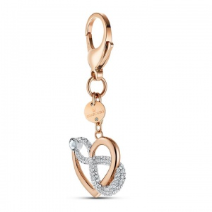 Brelok Swarovski - Infinite Bag charm, Rose-Gold 5530885