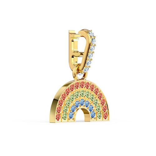 Zawieszka Swarovski - Remix Collection Rainbow Charm, Gold 5527005