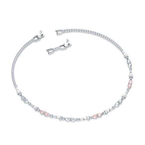 Zestaw Swarovski - Perfection, Silver 5515515