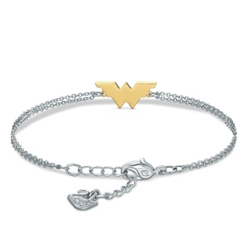 Bransoletka Swarovski - Fit Wonder Woman, Silver & Gold 5502311
