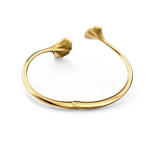 Bransoletka Swarovski -  Stunning Ginko Bangle, Gold 5518170