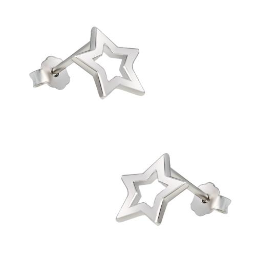 Srebrne kolczyki - Gwiazdy pr.925