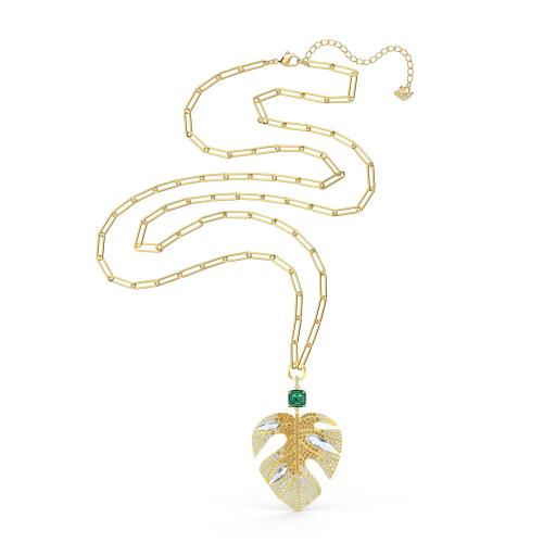 Naszyjnik Swarovski - Tropical, Gold 5512695