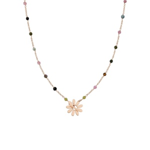 Naszyjnik Nomination Mon Amour - 'Flower and Gemstone' 027247/043
