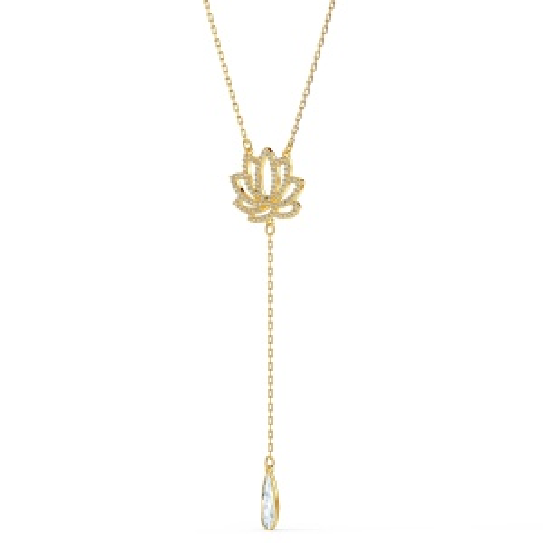 Naszyjnik Swarovski - Symbolic Lotus, Gold 5521468