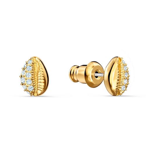 Kolczyki Swarovski - Shell Stud, Gold 5520471