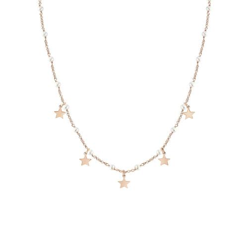 Naszyjnik Nomination Mon Amour - 'Stars and White Gemsotne' 027250/023
