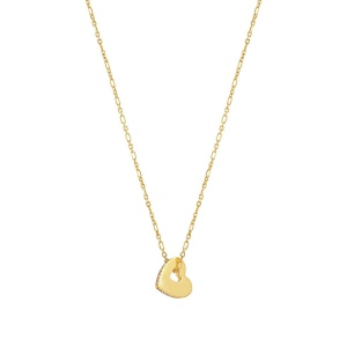 Naszyjnik Nomination Essentials - 'Gold Heart' 148202/006