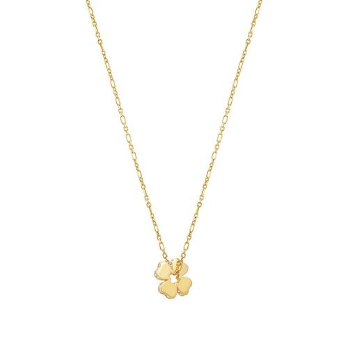 Naszyjnik Nomination Essentials - 'Gold Four-Leaf Clover' 148202/003