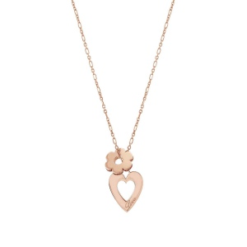 Naszyjnik Nomination Essentials - 'Heart and Flower' 148203/011