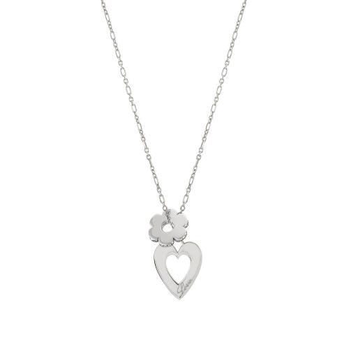 Naszyjnik Nomination Essentials - 'Heart and Flower' 148203/010