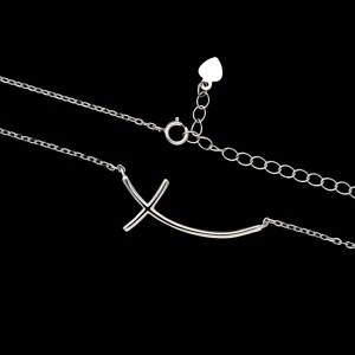 Srebrny naszyjnik - Krzyżyk pr.925
