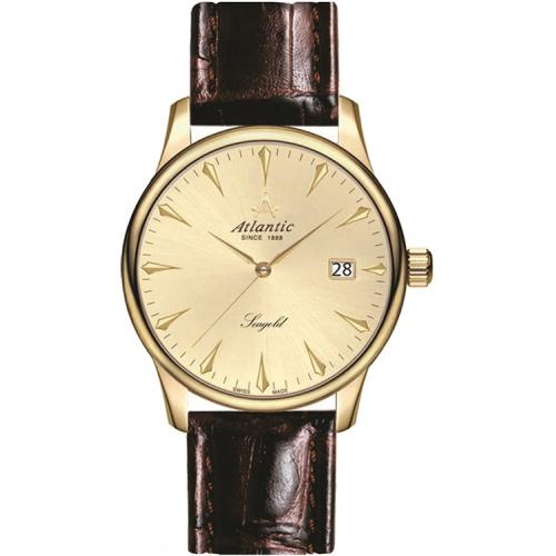 Zegarek Męski Atlantic 95343.65.31 Seagold