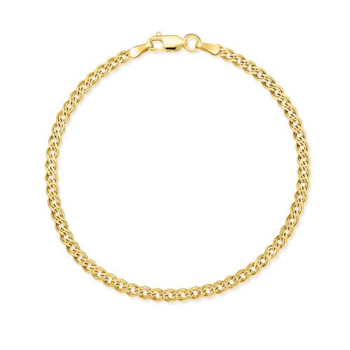 Złota Bransoletka Nonna 19cm pr.585