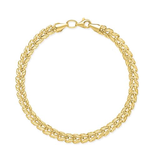 Złota bransoletka 19cm pr.333