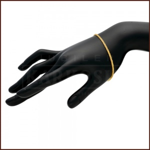Złota Bransoletka Lisi Ogon 20cm pr.585