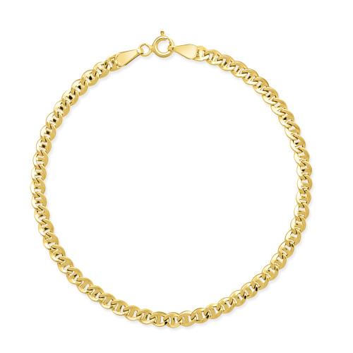 Złota bransoletka - Gucci 19cm pr.585