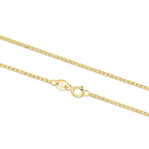 Złoty łańcuszek - Lisi Ogon 45cm pr. 585