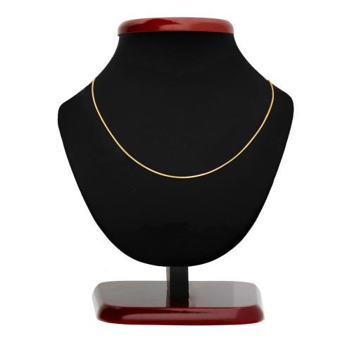 Złoty łańcuszek - Żmijka 40cm pr.585