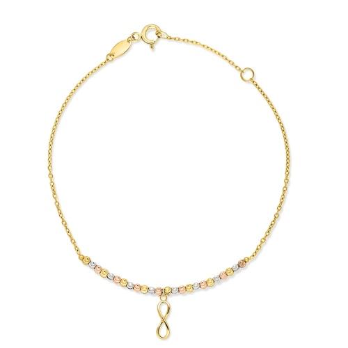 Złota bransoletka - Nieskończoność pr.333