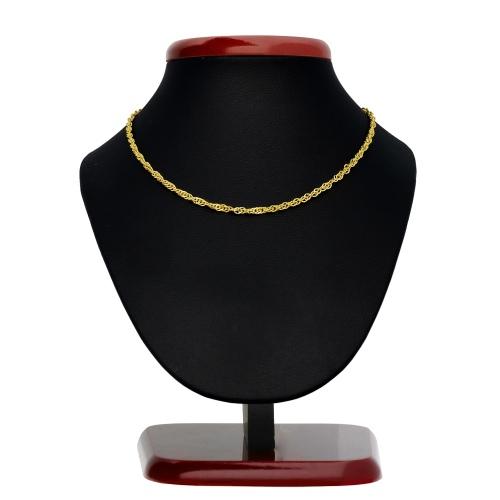 Złoty łańcuszek - Singapur 42cm pr.585