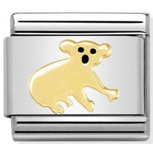 Nomination - Link 18K Gold 'Koala' 030248/17