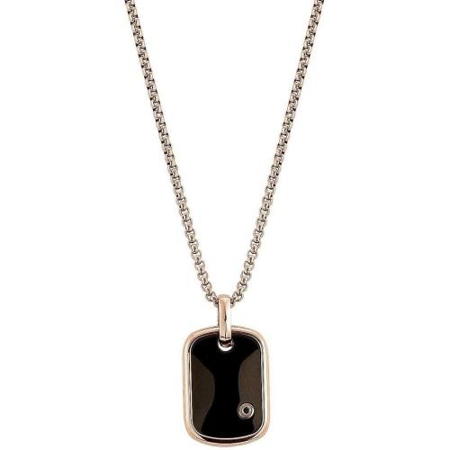 Naszyjnik Nomination Gentleman - Z czarnym diamentem 132905/011