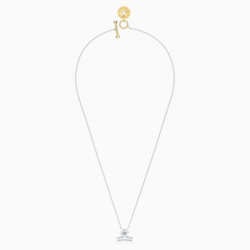 Naszyjnik Swarovski - Zodiac II Libra, Silver & Gold 5563895