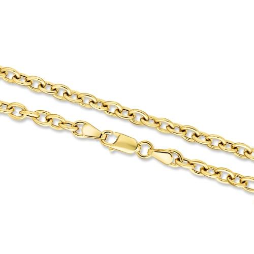 Złoty Łańcuszek Ankier 45cm pr. 333