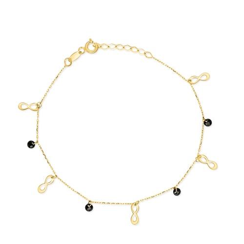 Złota bransoletka - Nieskończoność pr.585