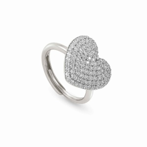 Pierścionek Nomination Silver - Easychic Heart 147910/023