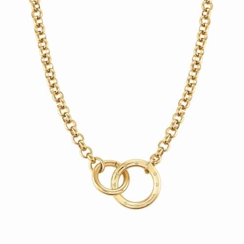 Naszyjnik Nomination Infinto - 'Gold Rings' 028203/012