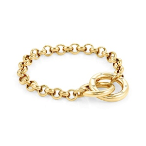 Bransoletka Nomination Infinto - 'Gold Rings' 028200/012