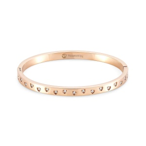 Bransoletka Nomination Infinto - 'Rose Gold Bangle' 028201/011
