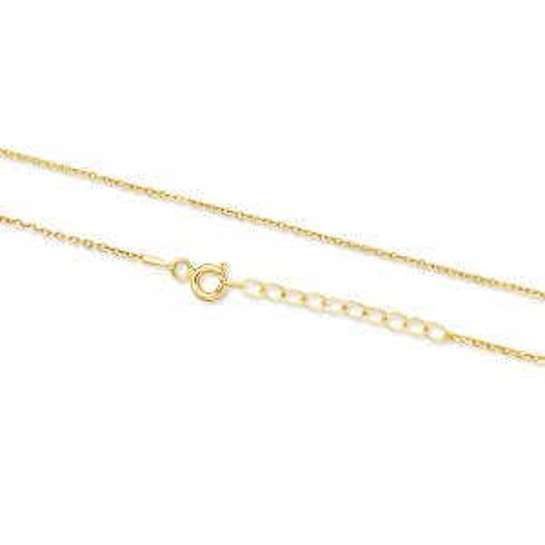 Złoty łańcuszek - Ankier 53cm pr.585