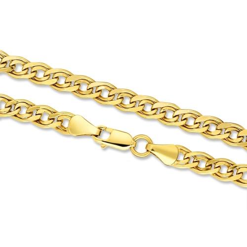 Złoty łańcuszek - Nonna 60cm pr.585