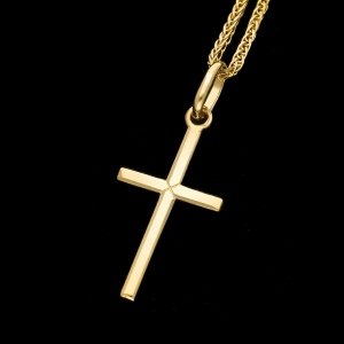 Złota Zawieszka -Krzyżyk pr.585