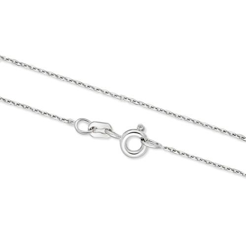 Srebrny łańcuszek - Ankier 42cm pr.925